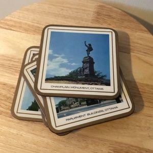 *3for$30* Set of 5 Pimpernel Ottawa coasters